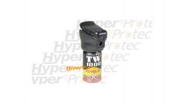 Bombe lacrymogène de défense au poivre 40 ml avec lampe