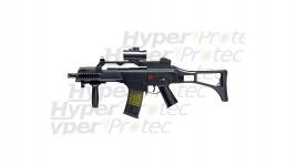 HK G36C Commando visée point rouge - Airsoft électrique 6 mm
