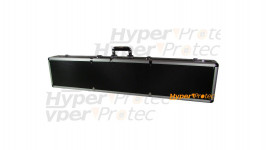 Mallette aluminium noire pour fusil et carabine 121 cm