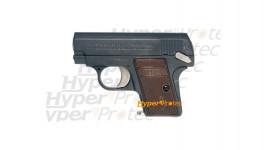 Colt 25 noir - Pistolet Air Soft 6 mm spring