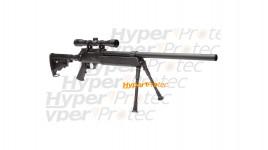 Urban sniper - réplique sniper + lunette + bipied Ambidextre