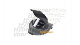 Masque gris pour airsoft et paintball Spyder avec jugulaire