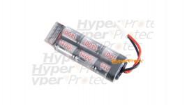 Batterie 1400 mAh 8.4V pour airsoft électrique - type mini