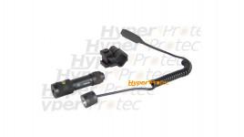 Laser avec 2 interrupteurs pour queue aronde de 11 mm