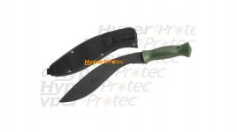 Kukri machette courbe 37,5 cm - manche nylon