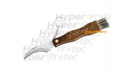 Couteau à champignons Maserin manche palissandre