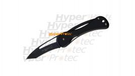 Couteau Fox new design noir lame tanto