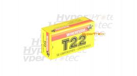Boîte de 50 cartouches 22 LR Winchester T22