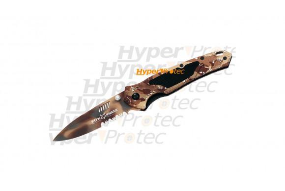 Couteau Fox Harrier manche camouflé