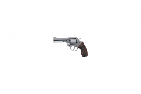 Roehm RG 99 Nickel - crosse Bois - Revolver Alarme 9 mm