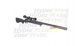 Covert Ops Sniper - réplique avec lunette 3-9x40 et silencieux
