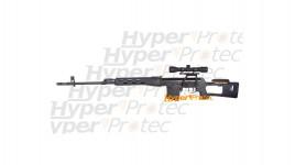 Dragunov SVD spring sniper avec lunette 4x32 et billes