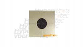 Cible en carton C50 55x55 cm pour du tir à 25 mètres