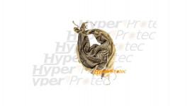 Keffieh sable 110 cm écharpe pour se protéger le cou