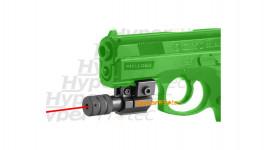 Laser pour rail Picatinny Weaver de 22 mm