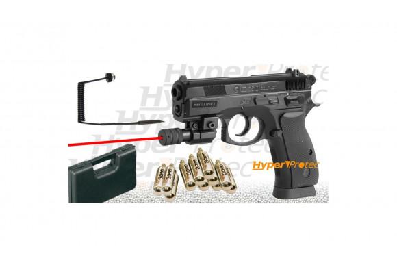 Walther P38 blowback culasse métal à billes acier 4.5 mm et CO2