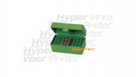 Boîte de rangement calibre 223 pour 50 cartouches calibre 6 PPC à 222 small