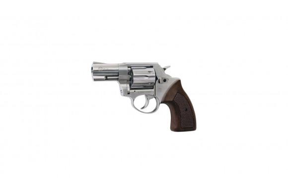 ROEHM RG 69 LUXUS - Revolver à blanc - Nickel Bois