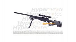 Sniper AW 308 spring avec 3-9x40 bipied et billes