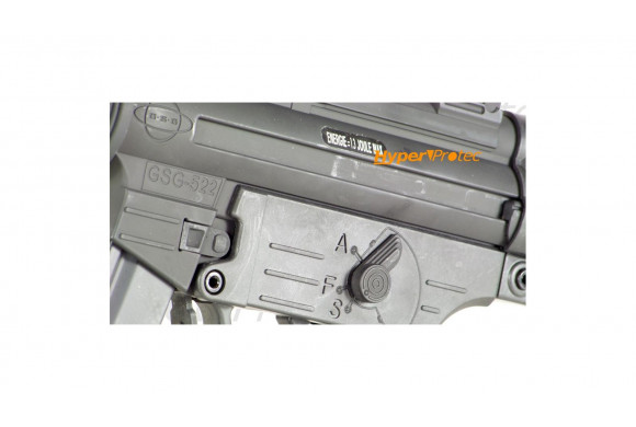 Steyr Mannlicher M9A1 culasse nickel - pistolet à billes acier