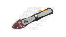 Couteau à lancer 22 cm avec étui port ceinture