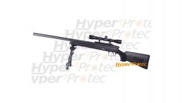 Sniper Steyr SSG 69 avec lunette bipied et 1000 billes
