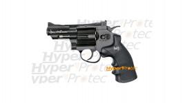 Revolver Dan Wesson noir 2.5 pouces - airsoft CO2 6 mm
