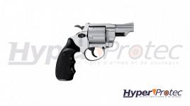 Smith Wesson combat nickel crosse noire - revolver 9 mm