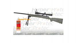 Sniper SA1 Green GBB avec lunette bipied gaz bbs - 591 fps