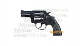 Revolver Reck Cobra noir crosse noire - alarme 9 mm