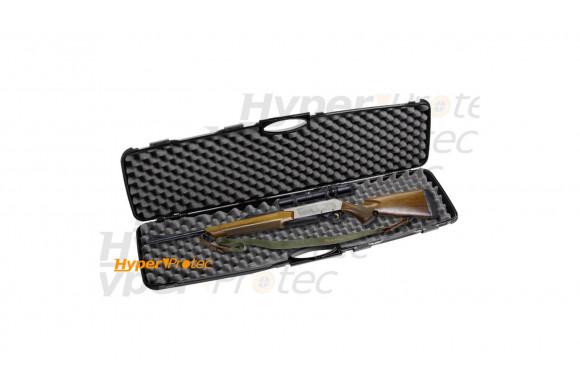 Grande Mallette rigide 4 glissières pour fusil carabine 120 cm