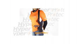 Holster vertical pour 2 épaules pour droitier - Noir
