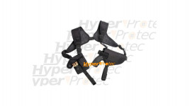 Holster port horizontal 2 épaules gaucher et droitier - ASG