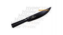 Couteau Bushman Cold Steel tout métal noir
