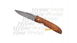 Couteau Fox Damas manche amboine