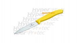 Couteau office Victorinox lame 10 cm Manche jaune