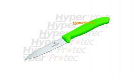 Couteau office Victorinox lame 10 cm Manche vert
