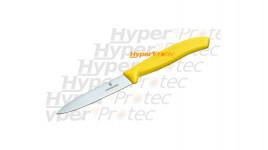 Couteau office Victorinox lame 8 cm Manche jaune