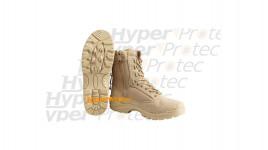 Bottes taille 44 de sécurité Sable - Chaussures avec zip