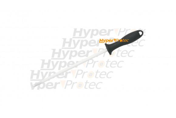 Fusil à affûter Fischer manche noir Mèche de 25 cm