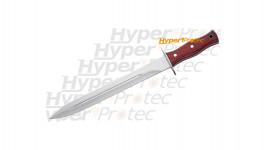 Dague à servir manche en bois