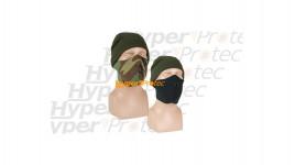Masque pour protéger le nez et la bouche réversible camo noir