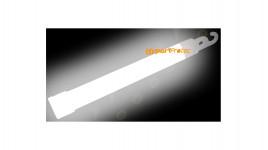 Bâton lumineux blanc 1.5x15 cm 8 à 12 heures