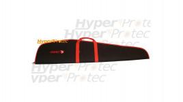 Housse 125 cm Gamo rouge et noire