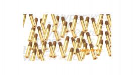 25 cartouches douilles pour Dan Wesson billes acier 4.5 mm