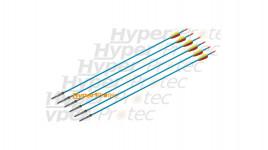 6 flèches chasse en aluminium pour arc 30 pouces - 76 cm