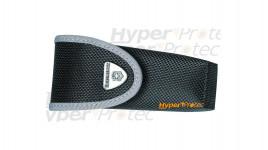 Etui en nylon noir fin à scratch pour couteau Victorinox - 12 cm