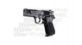 CP88 noir crosse noire - Pistolet à plombs 4 pouces