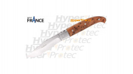 Couteau pliant régional - Basque Euskara avec croix