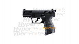 Walther P22 noir Q - pistolet alarme 9 mm